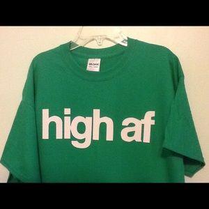 High af T-shirt New